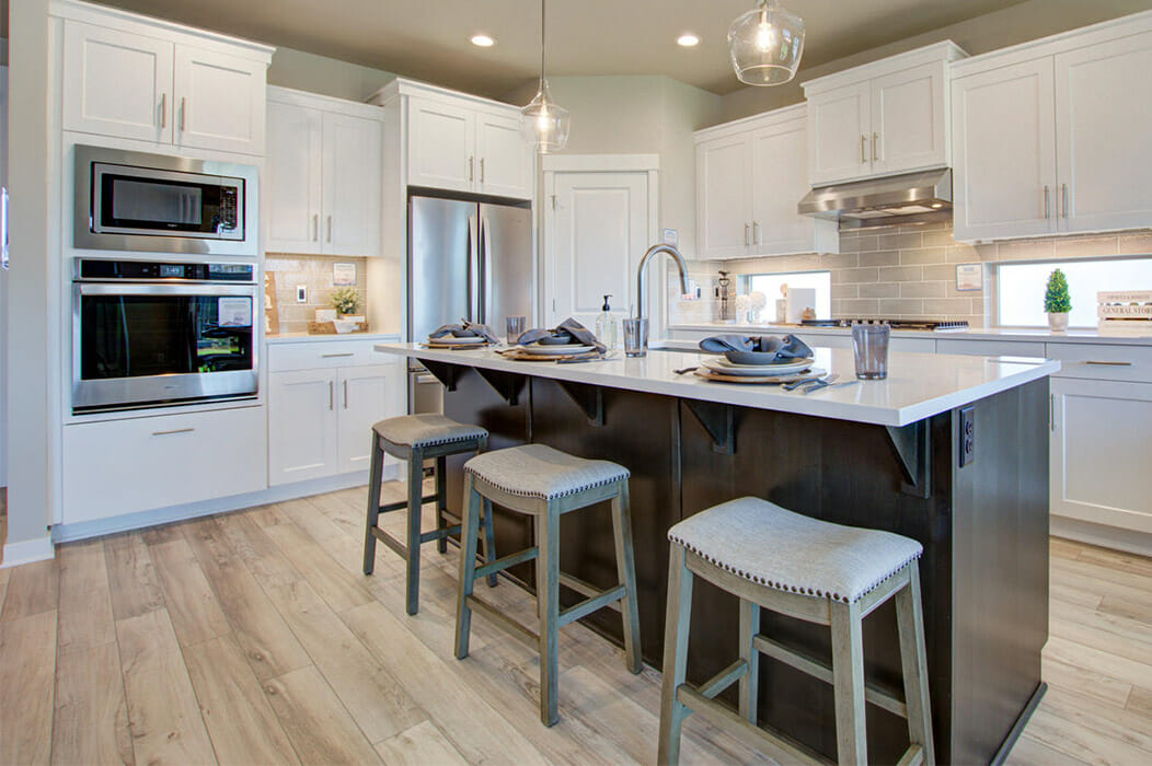 new construction homes, pahlisch kitchen home for every stage of life